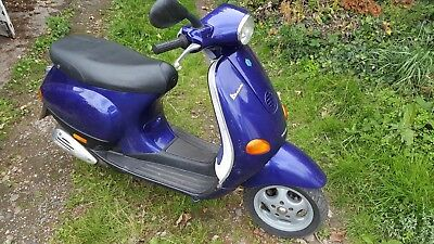 Piago vespa et2 70cc kit fitted