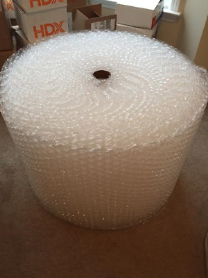 "5/16"" x 24"" Wide Medium Bubbles Perforated 12"" 100 ft bubble + Wrap"
