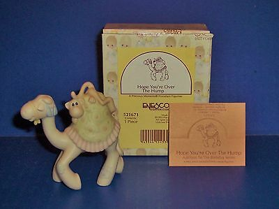 Precious Moments Hope You're Over The Hump Mini Nativity Addition  521671 NIB