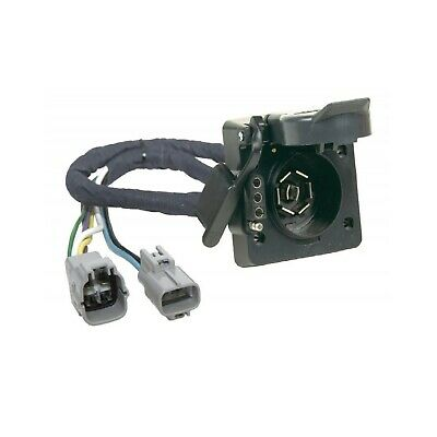 hopkins towing 43395 plugin simple trailer wire harness for