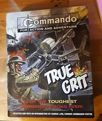 COMMANDO COMIC True Grit - 10 of the Toughest Commando Books Ever - 2010