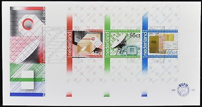 Netherlands 1981 PTT Centenaries M/S FDC First Day Cover #C49169