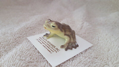 Hagen Renaker Kissing Frog Figurine Miniature Collect New Free Shipping 04027