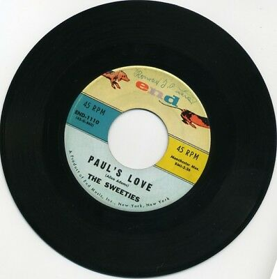 """""""7 - The  SWEETIES (Girls-Group)  -  Paul`s  Love / After you  -  end -  Doo Wop"""