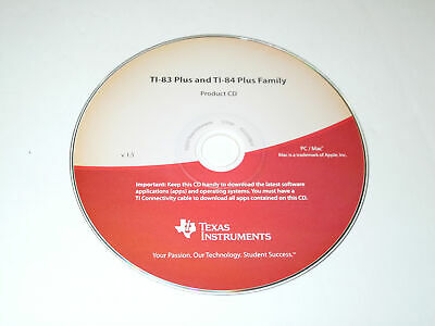 Texas Instruments TI-83 Plus and TI-84 Plus Family Product CD V1.5