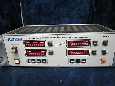 Klinger MC-4 Programmable Stepping Motor Controller