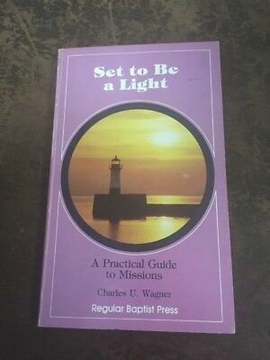 vintage christian book 1985 set to be a light a practical guide to missions