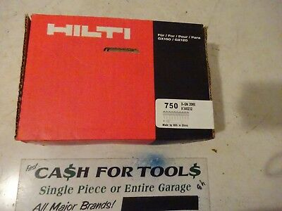 "Hilti X-GN 20 MX #340232 3/4"" Concrete Collated Nails 750 nails"