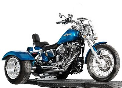 2005 Harley-Davidson Dyna  2005 Harley Davidson Dyna Low Rider FXDL Mystery Designs Trike Kit Many Extras!