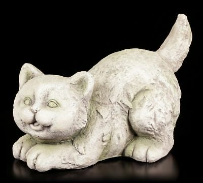 FIGURINE DE JARDIN - kuschelnde CHATS - Décoration chaton figure ...