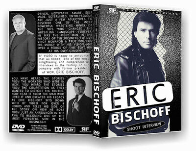 Eric Bischoff Package  Autographed 8x10  Shoot Interview DVD and his book!!! WCW