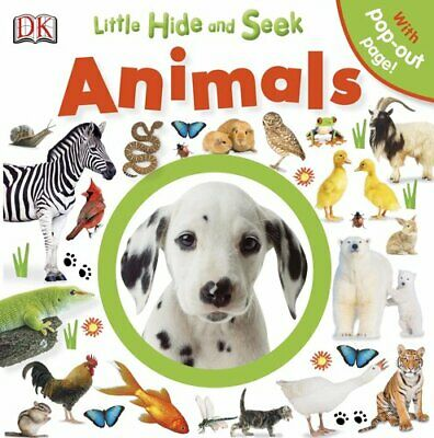 Animals (Little Hide and Seek) by Dorling Kindersley Book The Cheap Fast Free