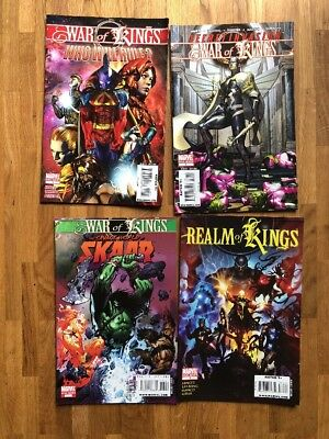 "Original US-Marvel-Comics 4 Oneshots zum""War/Realm of Kings"" Abnett/Lanning"