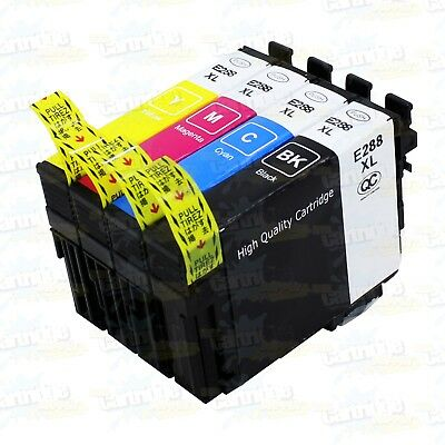 4PK Remanufactured 288XL Ink For Epson XP-330 XP-340 XP-430 XP-434 XP-440 XP-446