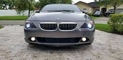 2005 BMW 6-Series  2005 BMW 645ci CONVERTIBLE VERY LOW MILES!