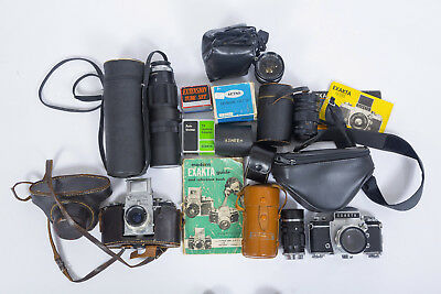Exakta Collection Estate Sale - VXIIa - VX Zeiss Tessar and Other Lenses & Acces