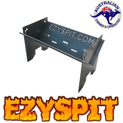 FP600 Flat Pack barbecue and folding Fire Pit  Portable camping charcoal grill ~