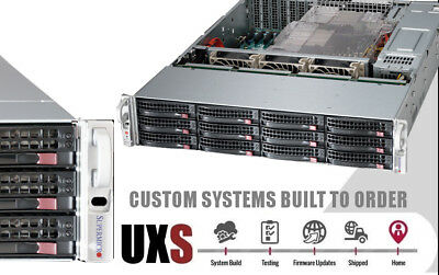 UXS SERVER 3U Supermicro 16 Bay 6Gbps FREENAS Storage X9DRI-LN4F+