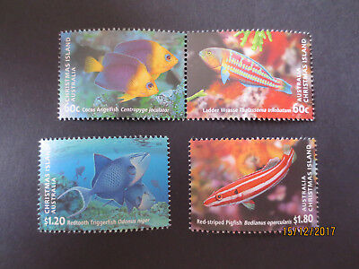 N0-3--2013  Christmas   Island -Fish  Of  Christmas  Is;   2 Stamps -H/val--Mint