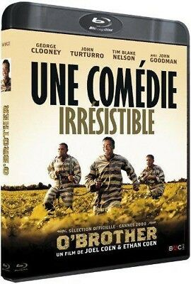 Blu-ray O'BROTHER - John Turturro, Tim Blake Nelson, John Goodman, Holly Hunter