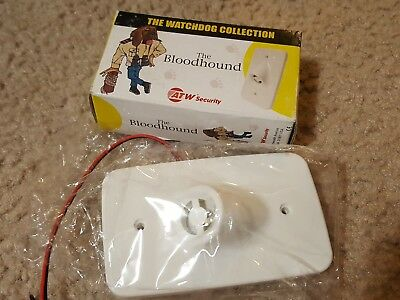 ATW Security The Bloodhound Indoor Outdoor Flush Mount Siren Alarm 12vdc 104db