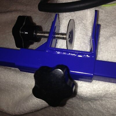 """Grooming Arm with Clamp (36"""" Adjustable Arm-BLUE) and Dog Grooming Loop Fast Del"""