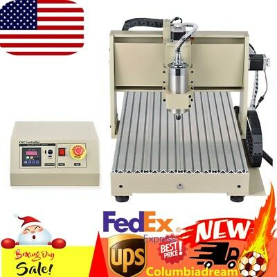 USB 6040 CNC Router 4Axis Engraver Engraving Milling Drilling Machine 1.5kw Sale