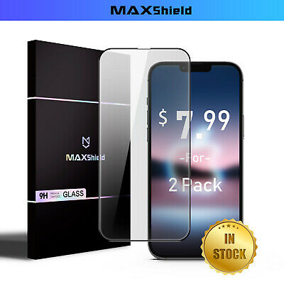 2X For iPhone X XS MAX XR Full Coverage 9D 5D 9H Tempered Glass Screen Protector