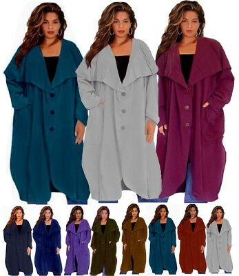 LotusTraders BOHO JACKET COWL HOODED COTTON MADE TO ORDER MISSES PLUS SIZE W913