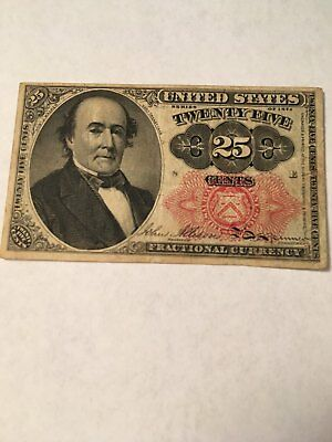 1874 Fractional Currency 25 Cent Walker