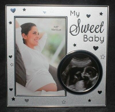 Baby Bump Ultrasound Newborn Child Photo Picture Frame Decorative Ornament