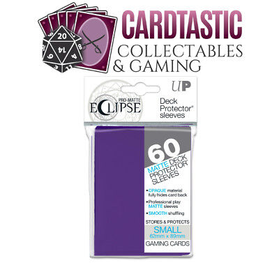 Ultra Pro Pro-Matte Eclipse Deck Protector Sleeves Small 60ct Purple