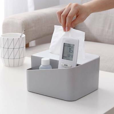 Tissue Box Paper Towel Napkin Case Holder Hotel Household Organizer