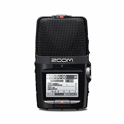 ZOOM H2n Handy Recorder with MS Microphone (Japan Import)