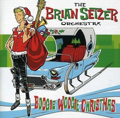 Brian Orchestra Setzer - Boogie Woogie Christmas [CD New]