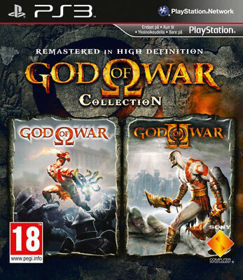 god of war gow collection para PS3