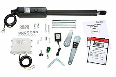Automatic Swing Gate Opener for Single Swing Gate Hardware Driveway Up to 550lbs