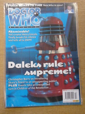 Doctor Who #314 2002 Mar 6 British Weekly Monthly Magazine Dr Who Dalek Cover