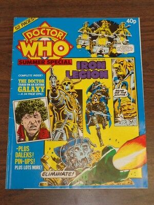 Doctor Who Summer Special 1980 British Weekly Monthly Magazine Dr Who Dalek
