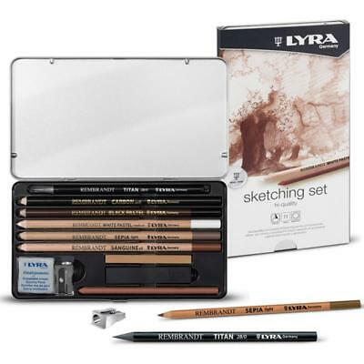 Lyra Rembrandt Hi Quality Artist Pencil Sets with Accessories