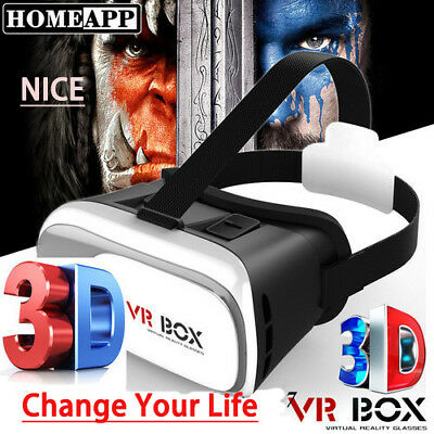 Virtual Reality Headset 3D VR Glasses Movie Game with Headset