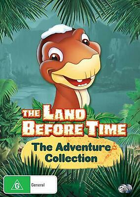 The Land Before Time | Adventure Collection - DVD Region 4 Free Shipping!