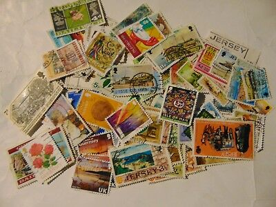 C/Iles I.O.M a collection of 94 different used stamps  as picture off paper