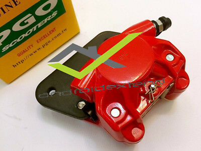 PGO G-MAX 200/220 ORIGINAL PGO REAR BRAKE CALIPER (with BRAKE PADS! )