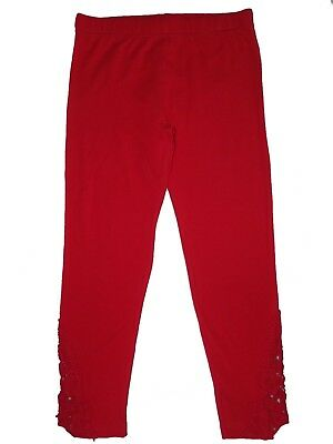 bn ex store girls red lace leggings 3,4,5,6,7,8,9,10 yrs