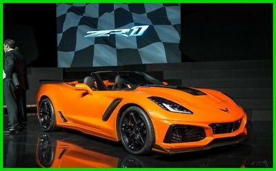 Chevrolet Corvette ZR1 New 2019 Chevy Corvette ZR1 allocation, You pick all your own options $1000 over