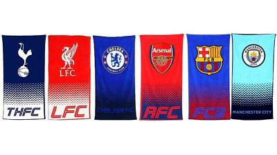 Man City Arsenal Hotspur Barcelona Chelsea Liverpool Fade Football Club Towel