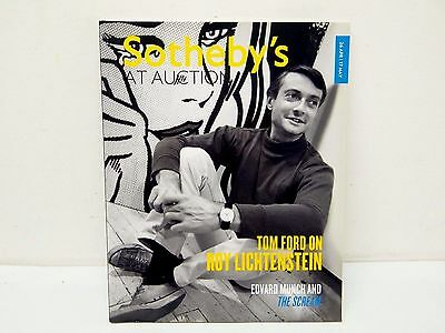 April 26 May 17 2012 Sothebys at Auction Tom Ford Roy Lichtenstein Book Catalog