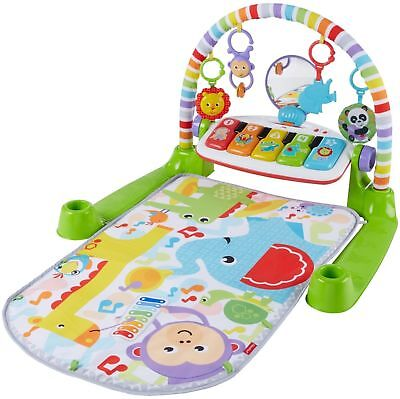 Brand New! Fisher-Price Deluxe Kick & Play Piano Gym Free Shipping!