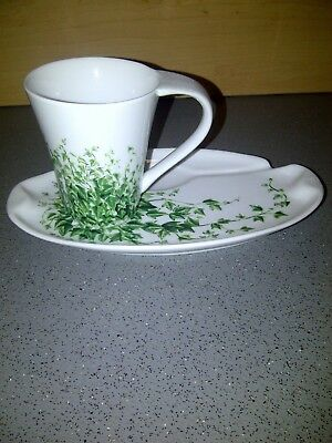 Wade Ringtons Trailing Ivy Tennis Cup And Saucer